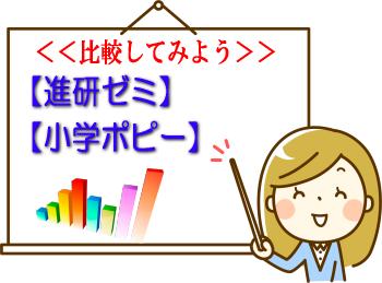 進研ゼミ・小学ポピー比較